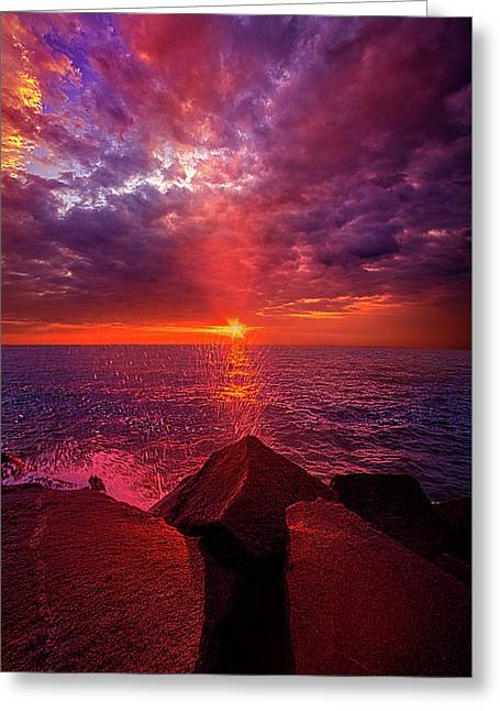 I Still Believe In What Could Be Greeting Card by Phil Koch