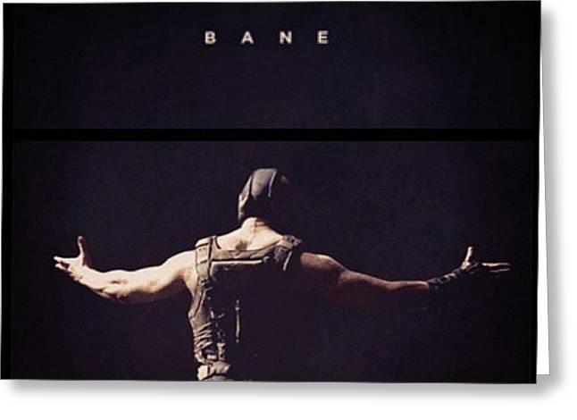 I Want This Framed! #bane #batman Greeting Card