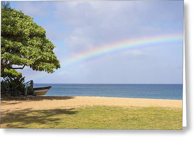 I Want To Be There Too - North Shore Oahu Hawaii Greeting Card