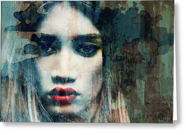I Want To Know What Love Is  Greeting Card by Paul Lovering