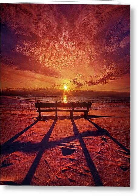I Will Always Be With You Greeting Card by Phil Koch