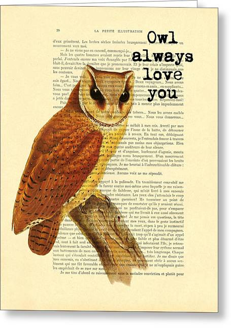 I Will Always Love You Greeting Card by Madame Memento
