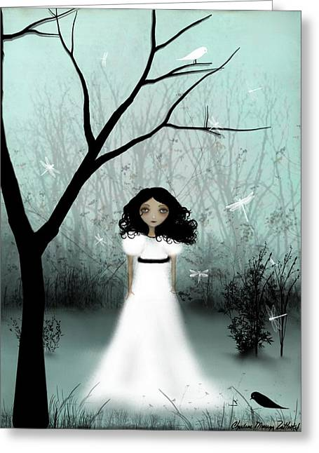 I Will Be Your Light Greeting Card by Charlene Zatloukal