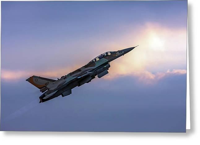 Iaf F-16i Sufa Nr. 107 Greeting Card