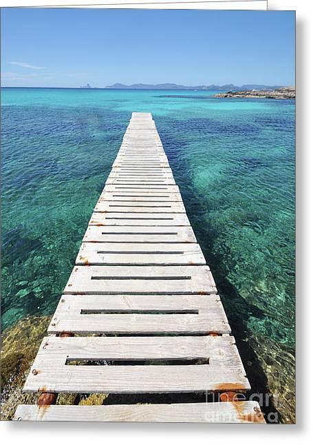 Ibiza Summer Mix 4.2 Greeting Card