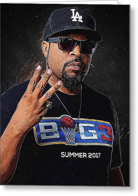 Ice Cube Greeting Card