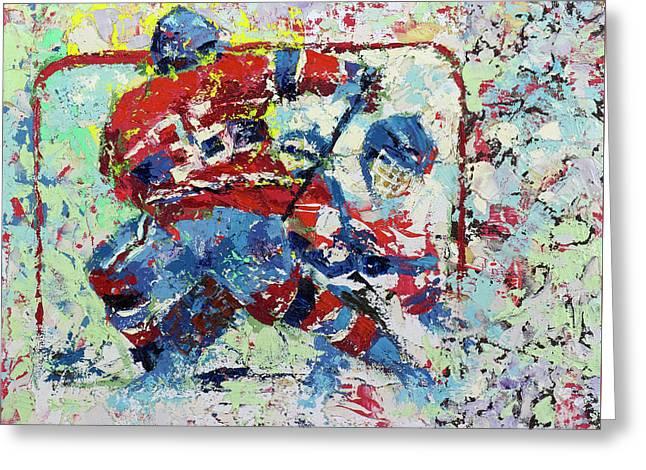 Ice Hockey No1 Greeting Card