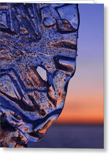 Ice Lord Greeting Card