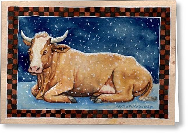 Ice Milk Greeting Card by Beth Clark-McDonal