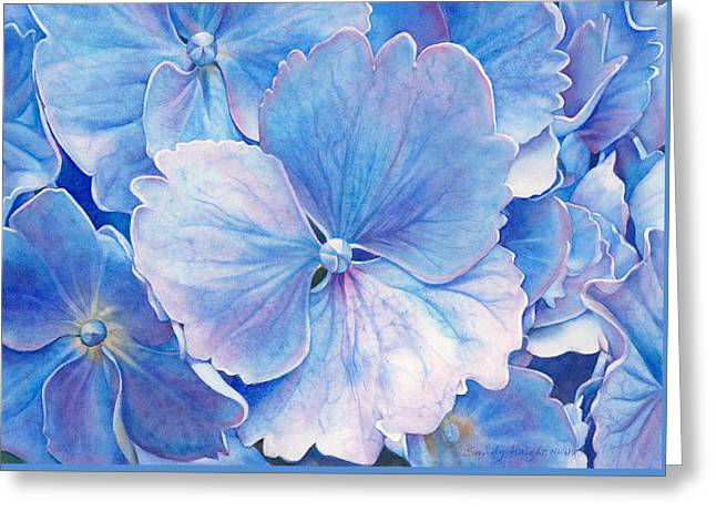 Ice Queen Greeting Card by Sandy Haight