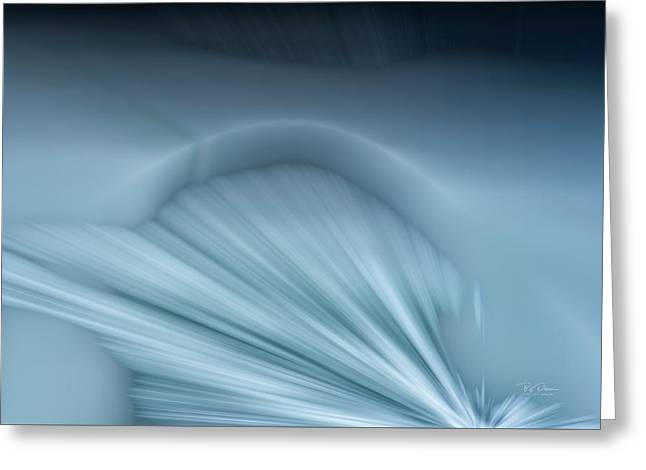 Ice Shelf Greeting Card