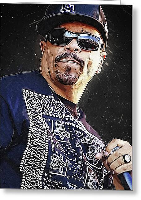 Ice T Greeting Card