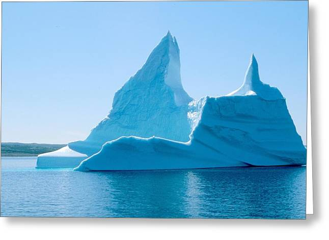 Greeting Card featuring the photograph Iceberg 2 by Douglas Pike