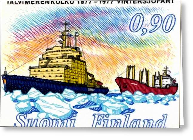 Icebreaker Greeting Card