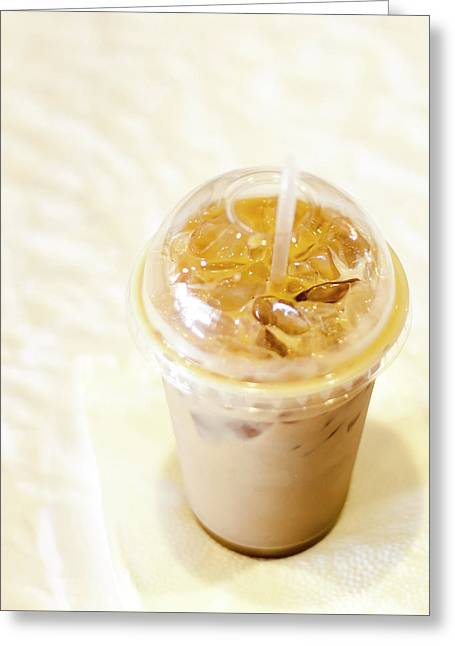 Iced Coffee 1 Greeting Card