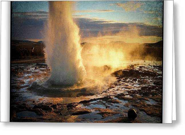 Iceland 13 Greeting Card by Ingrid Smith-Johnsen