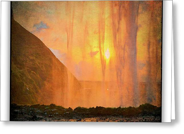 Iceland 20 Greeting Card by Ingrid Smith-Johnsen