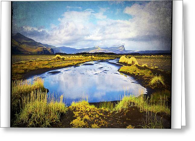 Iceland 36 Greeting Card by Ingrid Smith-Johnsen