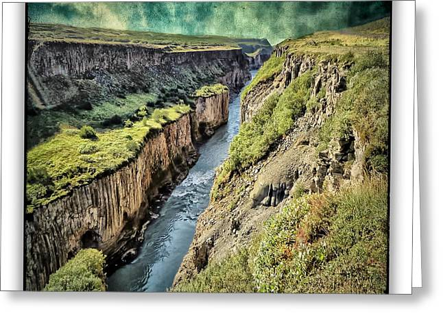 Iceland 41 Greeting Card by Ingrid Smith-Johnsen
