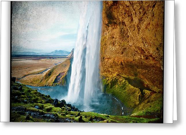 Iceland 6 Greeting Card by Ingrid Smith-Johnsen