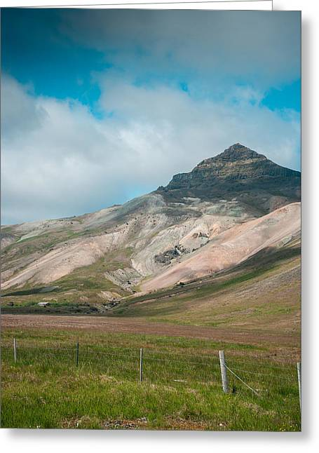 Iceland In Its Own Beautiful Colors Greeting Card by Mirra Photography