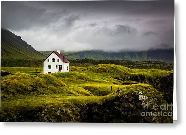 Iceland Scene Greeting Card