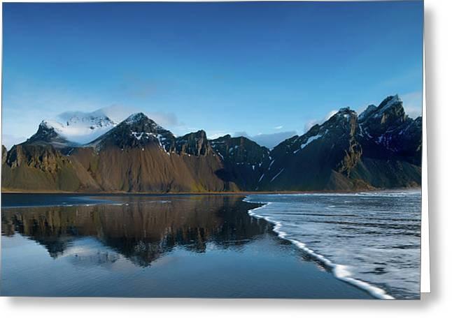 Iceland Sunrise Greeting Card