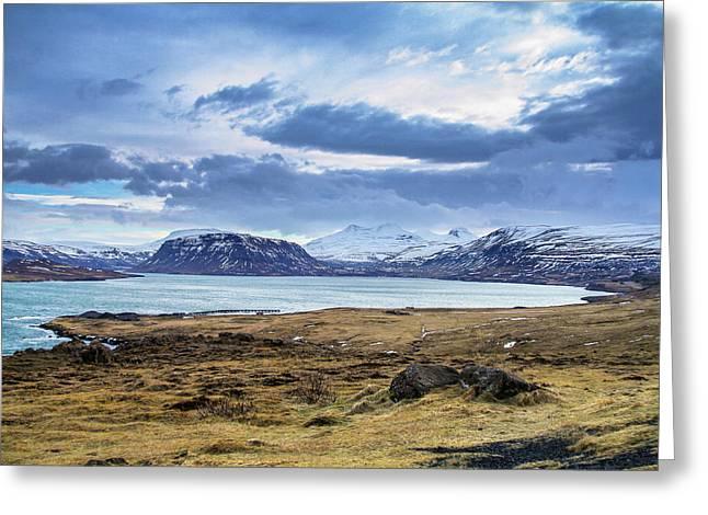Icelandic Blues Greeting Card