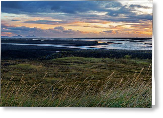 Greeting Card featuring the photograph Icelandic Coast by Brad Scott