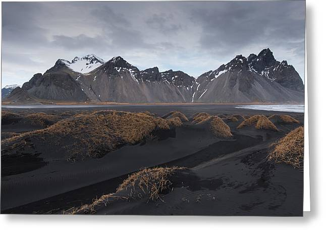 Greeting Card featuring the photograph Mountain Landscape by Michalakis Ppalis