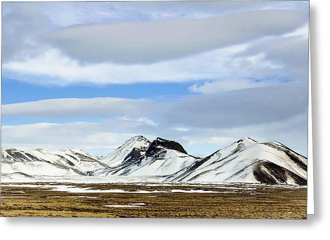 Icelandic Wilderness Greeting Card