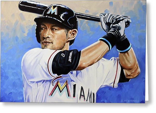 Ichiro Greeting Card