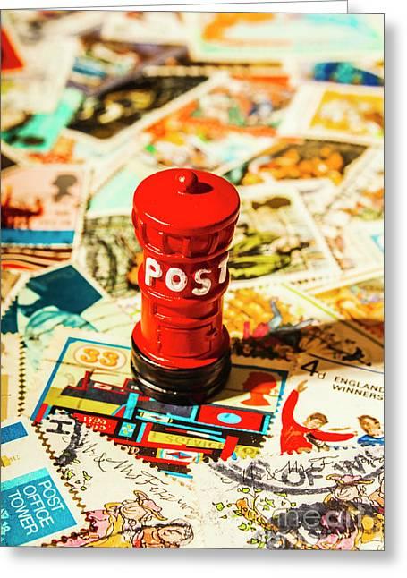 Iconic British Mailbox Greeting Card