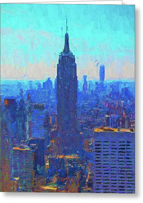 Iconic Empire State Building Greeting Card