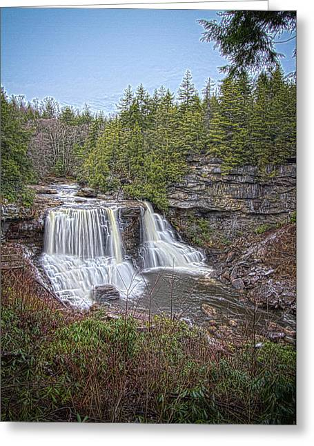 Iconic Falls Greeting Card