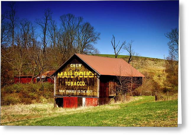 Iconic Mail Pouch Barn Greeting Card