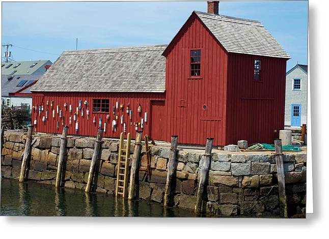 Iconic Rockport Ma Greeting Card