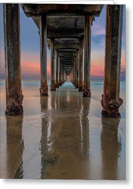 Iconic Scripps Pier Greeting Card