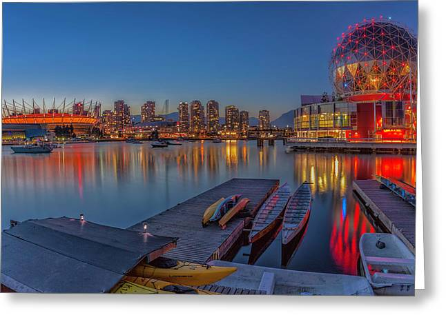 Iconic Vancouver Greeting Card