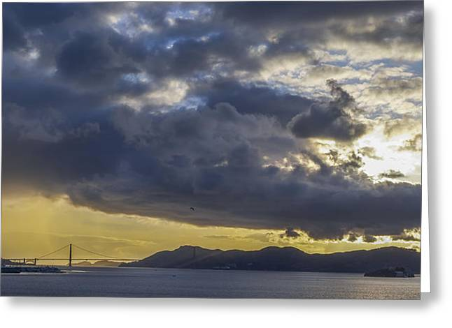 Icons Of The Bay Greeting Card by Sean Foster