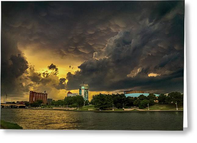 ict Storm - High Res Greeting Card