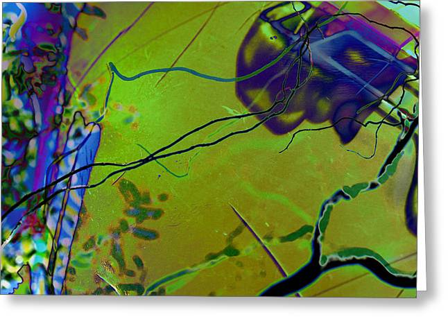 Electronica Greeting Cards - iCurly.02 Greeting Card by Robert Glover