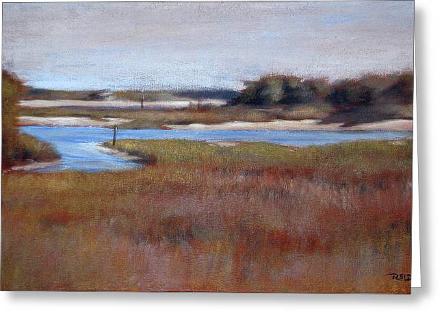 Icw Looking Toward Masonboro Greeting Card