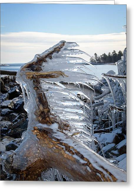 Icy Claw Greeting Card