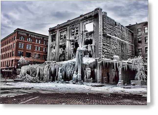 Icy Remains - After The Fire Greeting Card