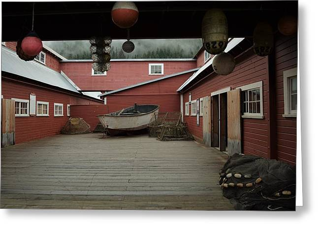 Icy Strait Point Cannery Museum Greeting Card