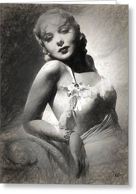 Ida Lupino Greeting Card