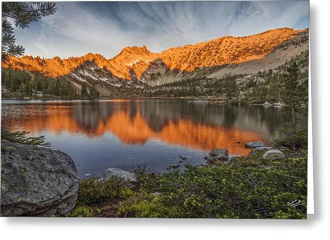 Idaho Wilderness Greeting Card by Leland D Howard