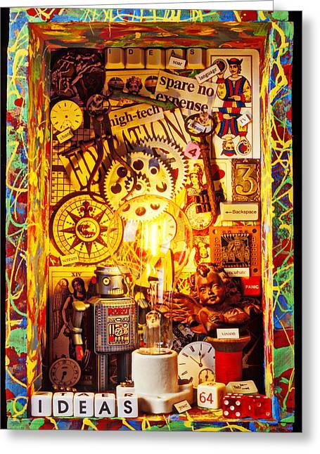 Ideas Greeting Card by Garry Gay