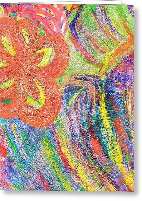 If Colors Were Sounds  Greeting Card by Anne-Elizabeth Whiteway